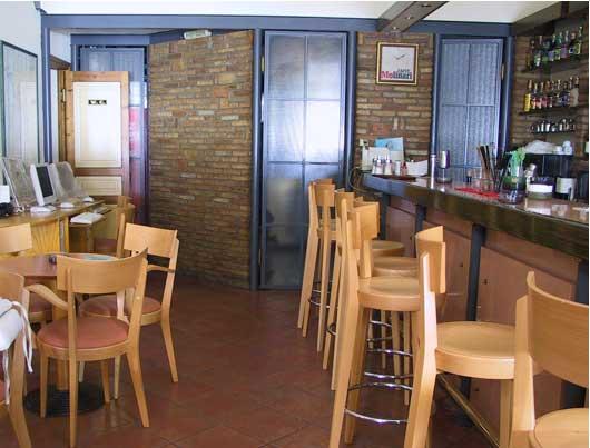Terra Bar   Internet Cafe   Parga town   NW Greece